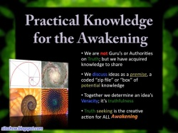 Practical Knowledge for the Awakening