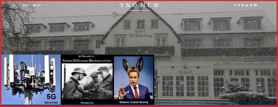 Bilderberg Fascists Double Agenda -- Rinus Verhagen