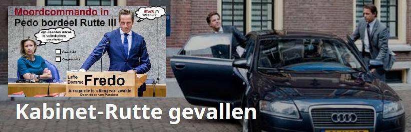 Dutch Hitler Kabinet Rutte III has Fallen || Rinus Verhagen
